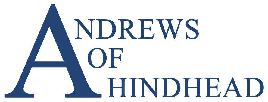 Andrews Of Hindhead logo recreated